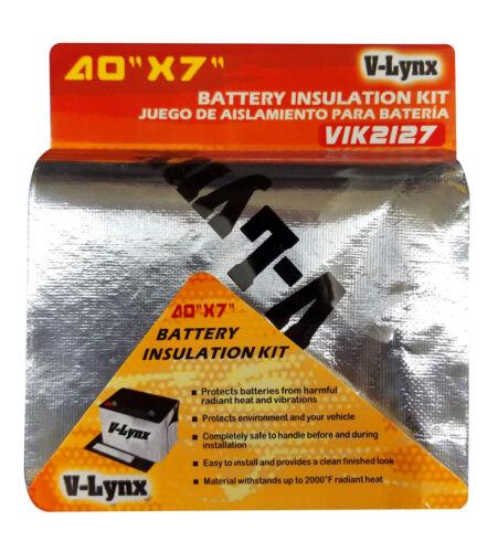 VIK2127 VLYNX 12 VOLT TRUCK BATTERY INSULATION//HEAT SHIELD KIT