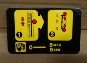 Land Range Rover Classic Warning Decal Automatic Transmission Auto Box BTR8626