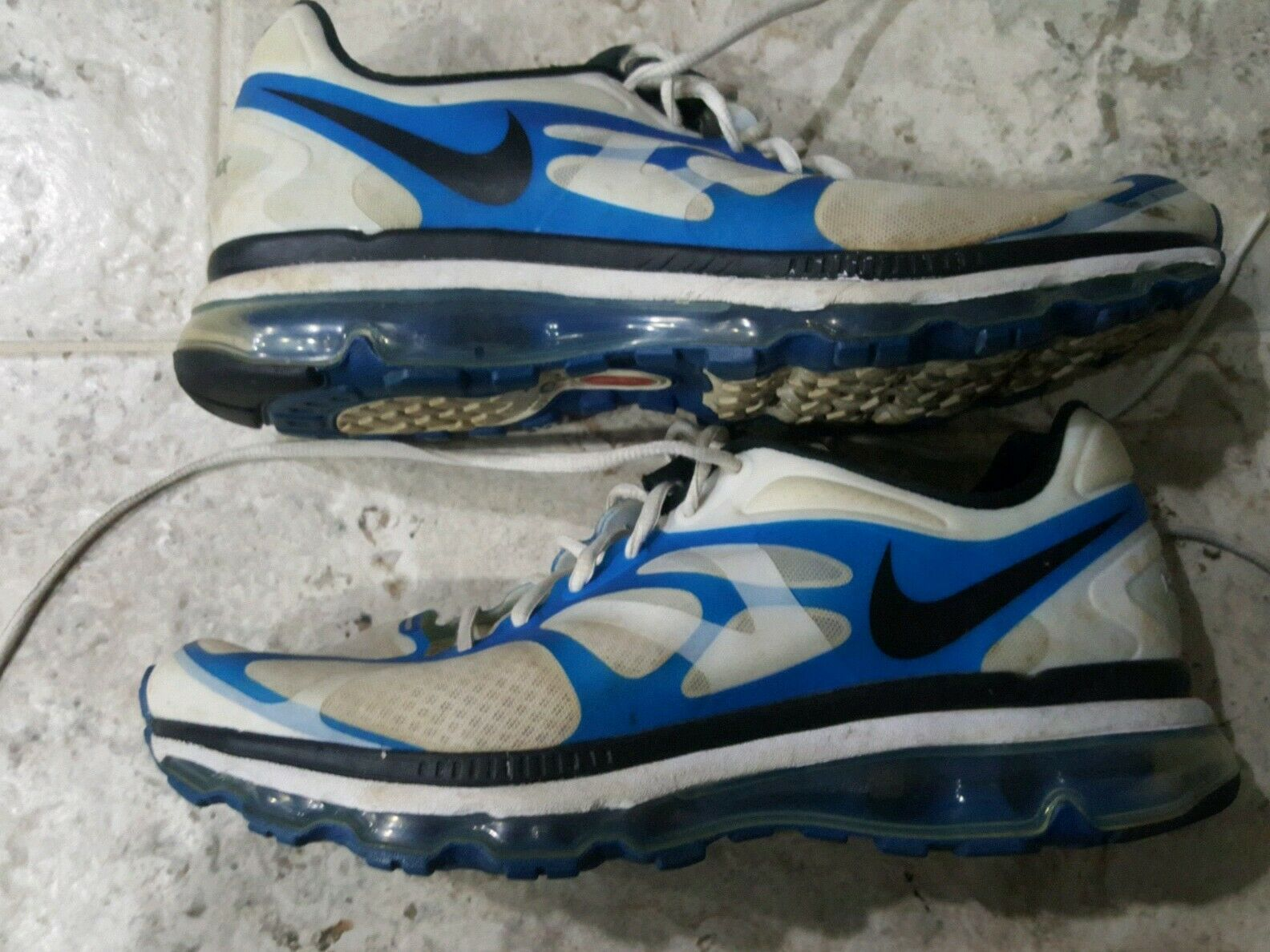 Nike Air Max 2012 + Running shoes 487982-104 Mens Size US12 ONLY SIZE ON EBAY