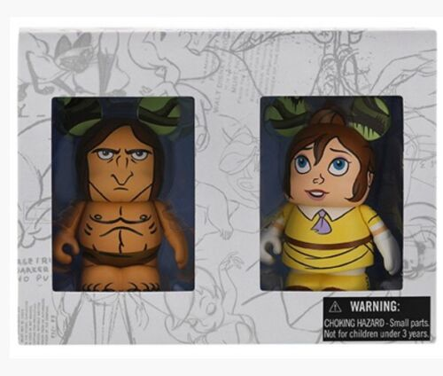 "Disney Vinylmation Animation 5 Tarzan Jane 2 Pack LE 1500 WDW 3"" Figure"