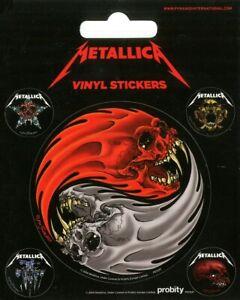 Metallica Sticker Pack 10x12.5cm