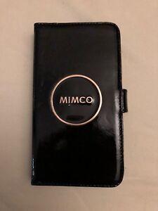 the latest 5d9de a6df5 Details about Mimco Black ENAMOUR FLIP CASE IPHONE 6 PLUS/7 PLUS/8 PLUS  AuthenticBNWT RRP99.95