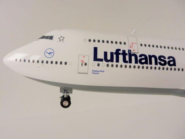 Boeing 747-8 Lufthansa 1/200 Herpa 553759-003 747 Intercontinental 553759 Assia
