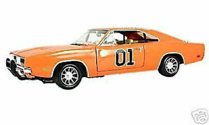 1-18-Ertl-1969-Dodge-Charger-Modellino-Film-Generale-Lee-034-The-Duca-034