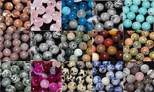 Semi-Precious-natural-10mm-round-gemstone-beads-jewellery-making