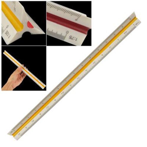 1:20 1:25 1:50 1:75 1:100 1:125 Plastic Triangular Scale IUuler Measurement YH