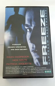 Freeze-Alptraum-Nachtwache-VHS-Kassette-Video-Film