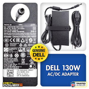 Genuine Dell 130W AC Power Adapter