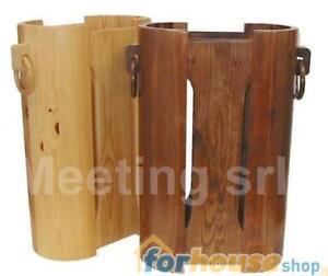 Portaombrelli casa sala legno 400 meeting | eBay