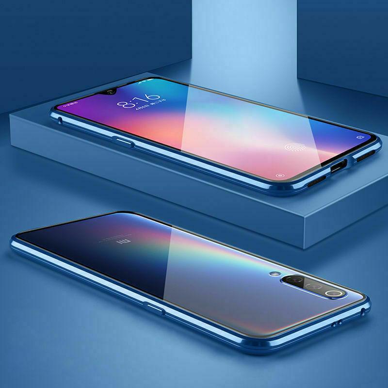 s l1600 - Funda Magnética protección 360º Cristal Templado Para Xiaomi Redmi Note 8 Pro 7