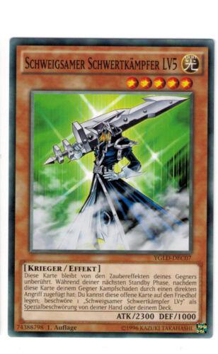 Mint YuGiOh Silent Swordsman ygld-dec06//7//8 Common Playset