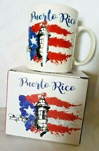 Puerto Rico Coffee Cup Mug Collectible Decorative Kitchen Free Shipping Ebay