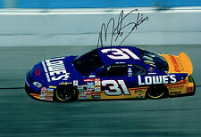 Mike SKINNER SIGNED NASCAR Daytona 12x8 Chevrolet Photo AFTAL COA Autograph