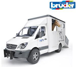 Bruder Jouets 02533 Mercedes Sprinter Cheval Transporter Camion Boîte 1- - 16 stj4aVtE-09085902-360639299