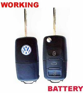 Volkswagen-OEM-Keyless-Remote-FlipKey-Uncut-Ignition-Blade-Blank-HLO-1JO959753AM