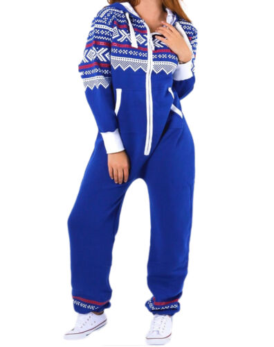 Kids Unisex AZTEC PRINT Hooded Zip Jumpsuit Playsuit Girls Boys Age 7-13 year