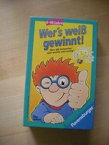 Ravensburger - Wer's weiß, gewinnt! 23 096 9 Wissensspiel 23096 - Austria, Österreich - Ravensburger - Wer's weiß, gewinnt! 23 096 9 Wissensspiel 23096 - Austria, Österreich