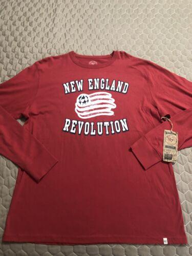 New England Revolution '47 Brand Mens Long Sleeve Shirt Size XL Nwt