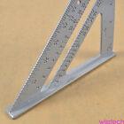 Alloy Speed Square Protractor Miter Framing Measurement Ruler For Carpenter 7