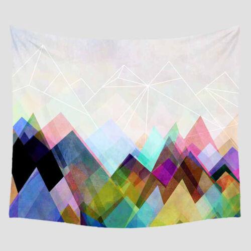 Indian Geometric Mens Tapestry Wall Hanging Home Decor Bohemian Blanket Mat Pad