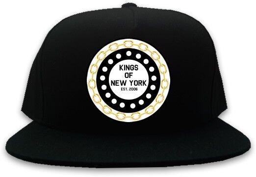 KINGS OF NY CHAIN LOGO SNAPBACK HAT BASEBALL CAP