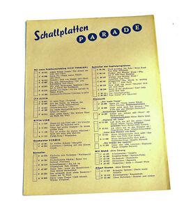 2 Schallplatten Parade Decca Platten Nummern Katalog Klassik Nr k104