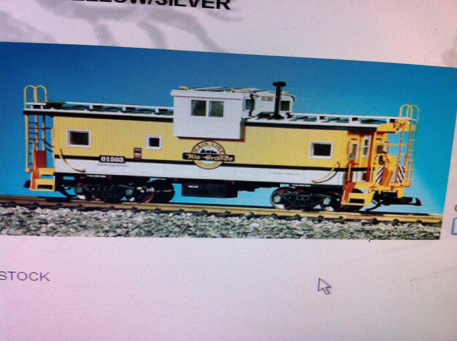 USA Trains 12105 G Escala Denver Rio Grande visión extendida furgón de cola Amarillo Plata