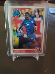 TIMOTHY WEAH USA SOCCER PANINI OPTIC RATED ROOKIE 2018-19 PACK FRESH 🇺🇸⚽️🔥
