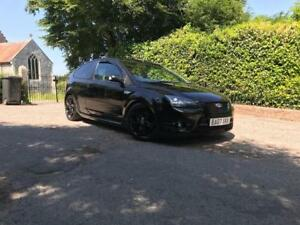 2007-Ford-Focus-ST-3-2-5-Turbo-in-Black-with-Black-Leather-Long-MOT