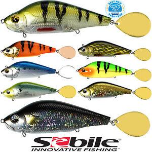 SEBILE-SPIN-GLIDER-95-S-95mm-38-3gr-TT-0-2-1-5m-SPIN-SHAD-WOBBLER-M-SPINNER