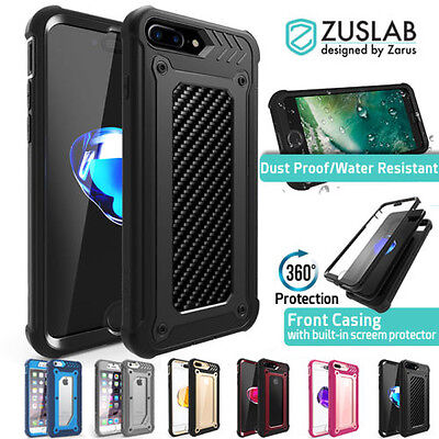 timeless design 47253 b687b iPhone 8 7 Case 7 Plus 6s For Apple Genuine Zuslab Armor shield Heavy duty  Cover | eBay