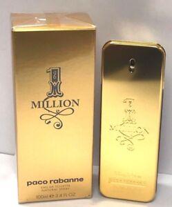 1-One-Million-Paco-Rabanne-EDT-Spray-For-Men-3-4-oz-100-ml-New-In-Sealed-Box