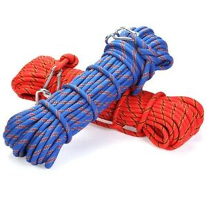 1M-Mountaineering-Rock-Climbing-Rope-Heavy-Duty-Outdoor-Safety-Rescue-Bara