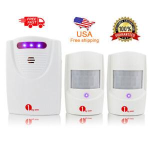 1byone-Alarm-Garage-Motion-Sensor-Infrared-Wireless-Alert-Secure-System-2-Sensor