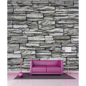 Aufkleber riesig deko wand in steine 11018 11018 ebay - Deko wandsteine ...