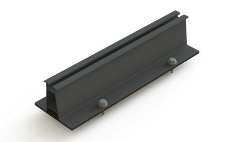 Varianten 6cm hohe Trapezschiene Kurzschiene zur Befestigung auf Trapezblech