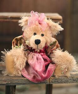 Teddy Bear 'Vivienne' Settler Bears Handmade Dress Collectable Gift 25cms NEW