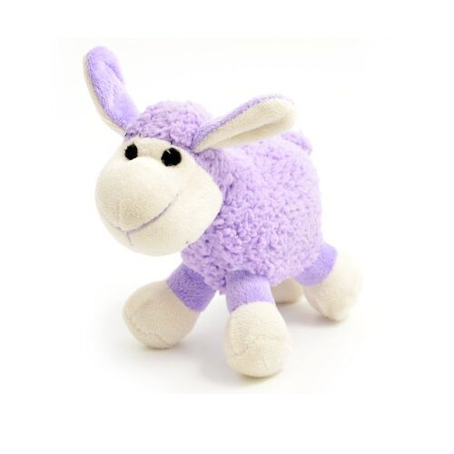 Ancol Small Bite Plush Lamb Dog Toy - Puppy Comforter 15cm Approx