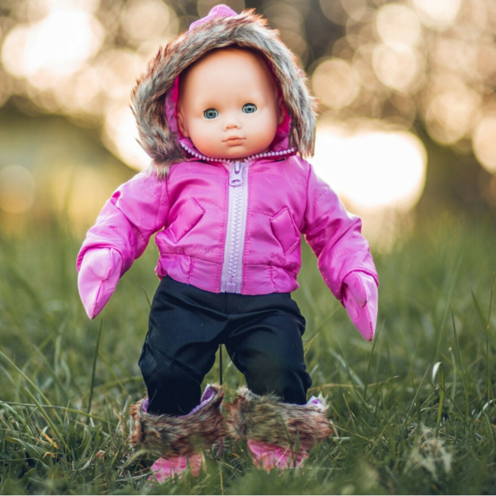 American Girl Doll Bitty Bsby Twins Snow Suit New