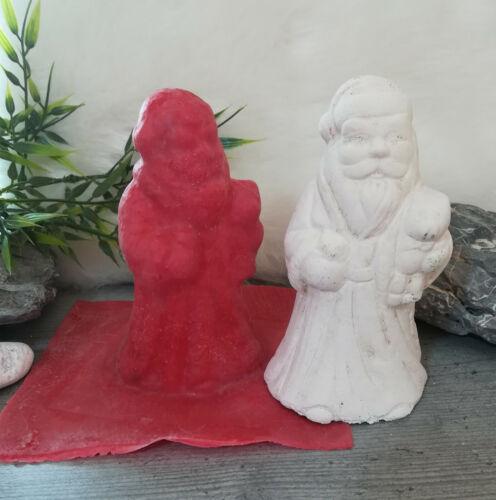 Handgemachte Latexgießform Gießform Betongießform Weihnachten Nikolaus 011