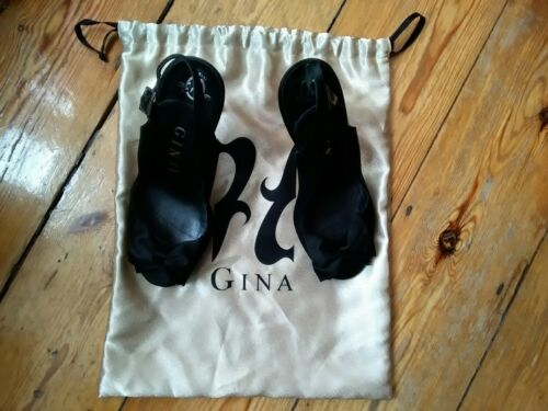 Black Satin Shoes Dolce Gina Belt Gabbana q1U66