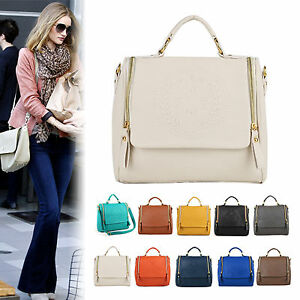NEW Women Ladies Korea Style Square Shoulder Handbag Messenger Totes ... 25f28ac2e11dd