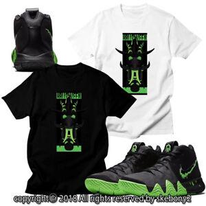 d252bc1e2d9a CUSTOM T SHIRT MATCHING STYLE OF Nike Kyrie 4 Halloween Rage Green ...