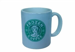Frozen Coffee mug Cup Walt Disney Elsa Anna princess green USA olaf snowflake us