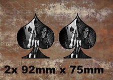 2 x ACE Vinile Grafico, Adesivo, Decalcomania, Custom, bici, auto, tuning 081