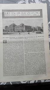 1903 34 Berlin Kaiser Wilhelm Akademie Teil 1 Keine Kostenlosen Kosten Zu Irgendeinem Preis Berlin