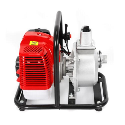Neu Benzin Wasserumfüllpumpe Wasserpumpe 43cc 1,7PS 2-Takt Benzinmotor 1.25 kW