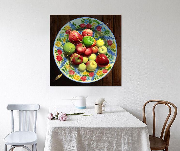 3D Attraktiv Obst Schale 8954 Fototapeten Wandbild BildTapete AJSTORE DE Lemon