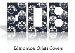 Image Is Loading Edmonton Oilers Light Switch Covers Hockey NHL Home