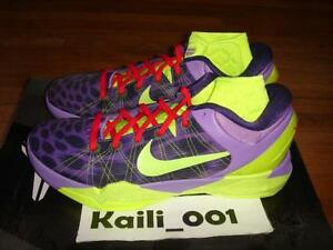 068c31a736d6 Nike Air Zoom Kobe VII 7 System Christmas Grinch All Star WTK Chaos ...